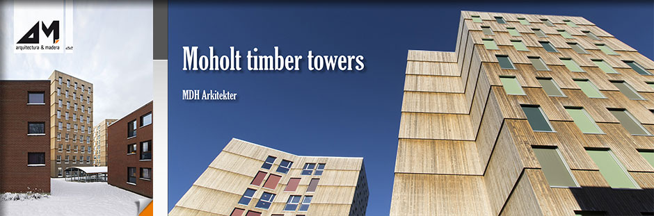 Moholt timber towers